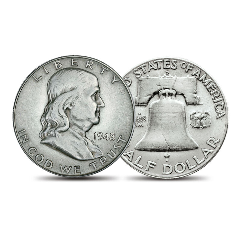 Complete Ben Franklin Half Dollars Collection 1797 0054 b coin