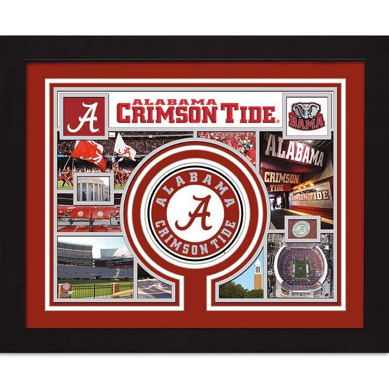 Alabama Crimson Tide Framed Photo Collage 4393 018 9 1