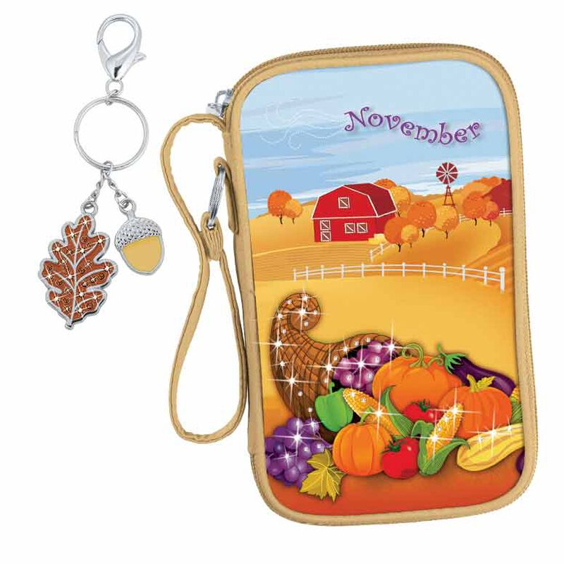 Seasonal Sensations Wristlet  Keychain 5455 002 5 11
