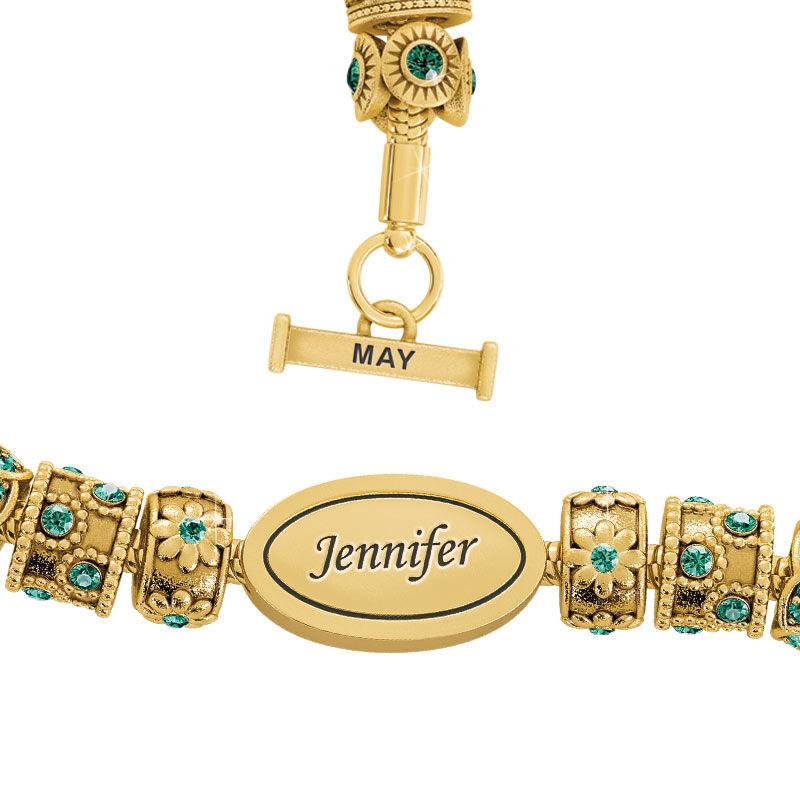 Beauty Personalized Charm Bracelet 2406 001 4 5