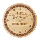The Personalized Home Blessing Wooden Clock 5613 0016 a main