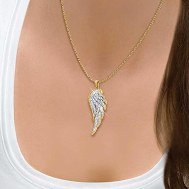 Angel Wing Diamond Pendant 1567 001 1 2