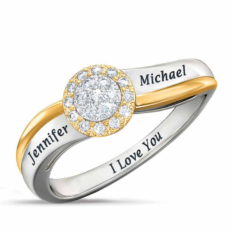 Love of a Lifetime Personalized Diamond Ring 5044 001 5 1