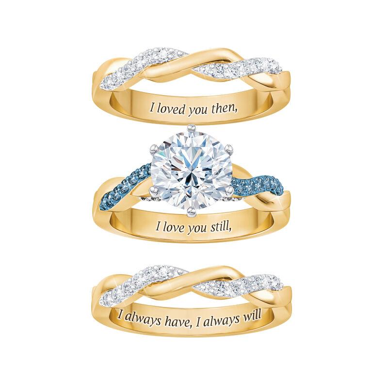 I Still Do Birthstone Ring Set 6740 0010 b separate