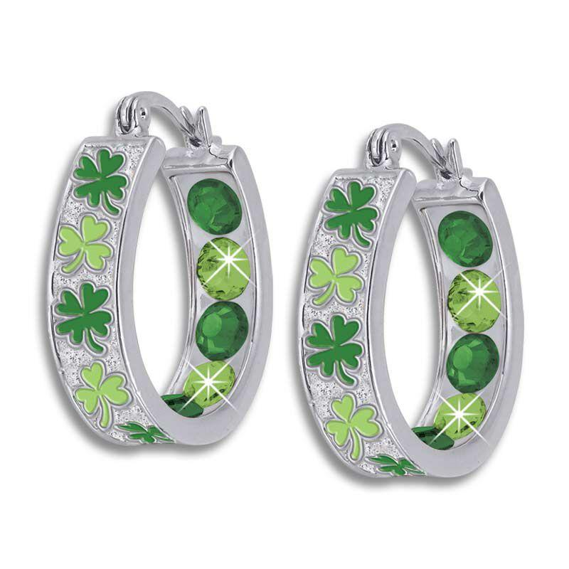 Crystal Celebrations Hoop Earrings 4608 002 4 8