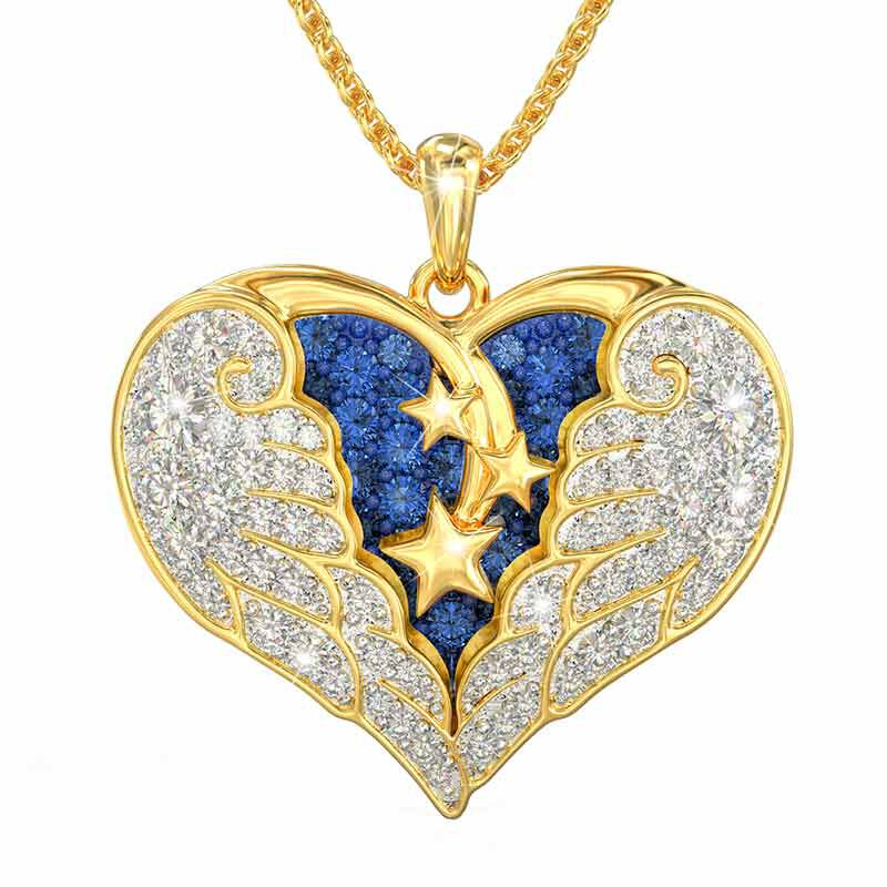 On Angel Wings Remembrance Pendant 6479 001 7 1