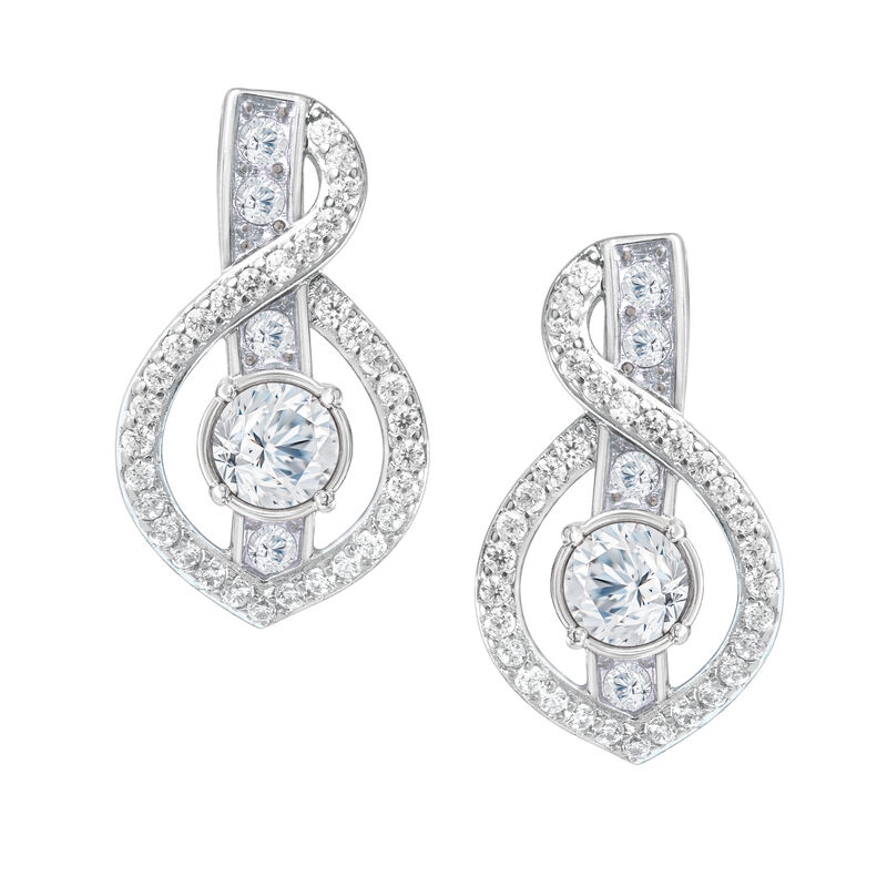 Birthstone Wave Earrings 2202 0069 d april