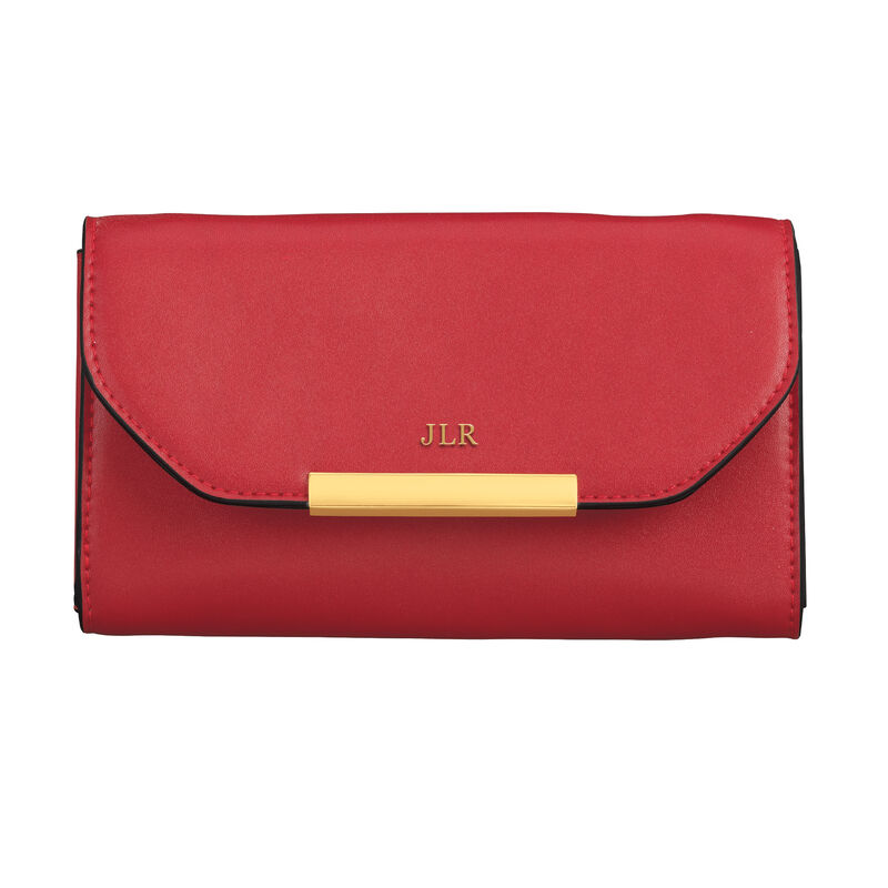 Wallet Personalized Red 5645 0018 a main
