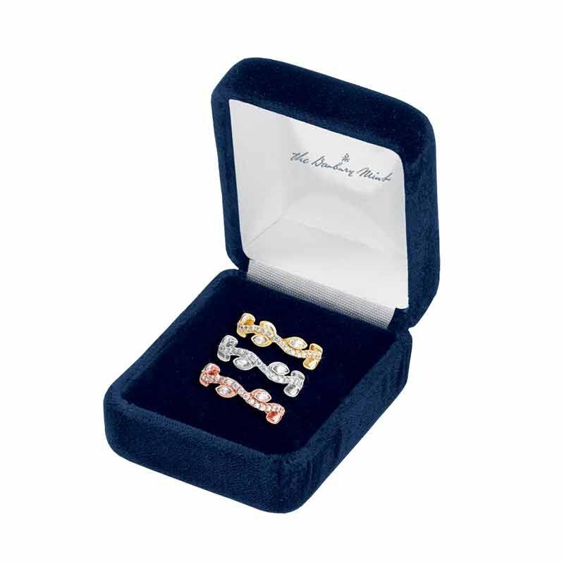Leaves of Luxury Eternity Ring Set 6143 001 3 3