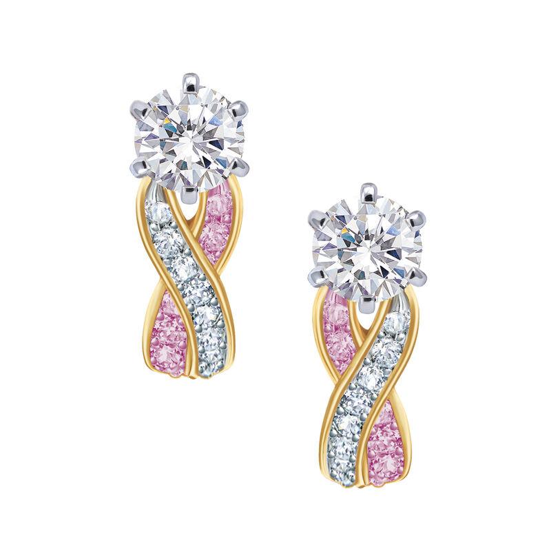 Birthstone Swirl Earrings 6503 0033 f june