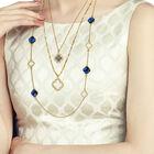 Birthstone Beauty Layered Necklace Set 6594 001 7 14