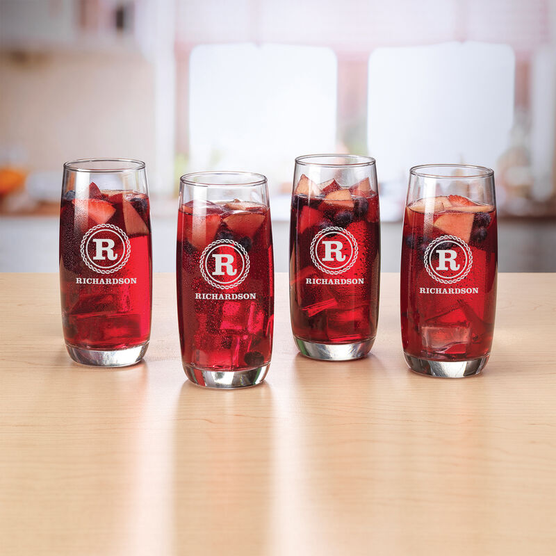 The Personalized Set of Four Tall Glasses 5686 0018 a main