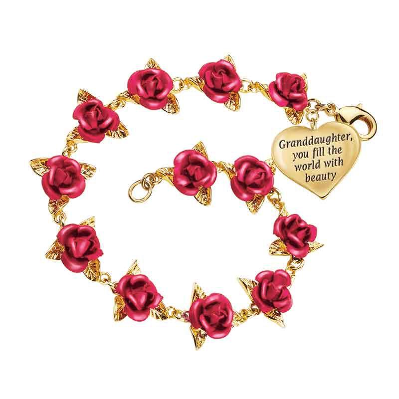 Dozen Roses Granddaughter Bracelet 1519 001 0 2