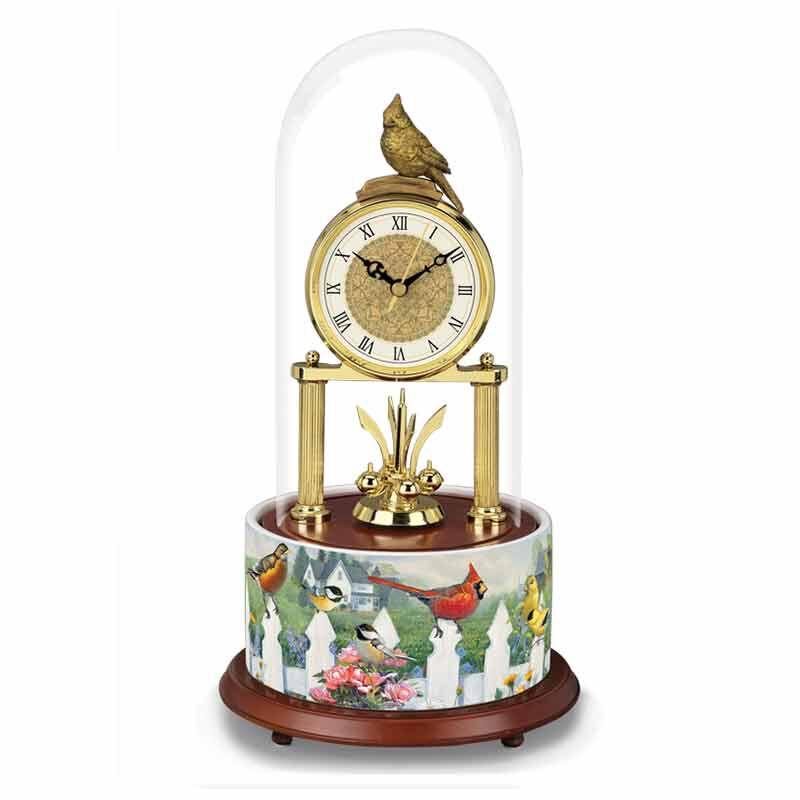 Seasons of Enchantment Songbird Clock 1925 001 8 2