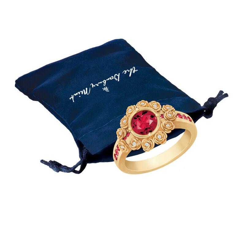 A Dozen Roses Birthstone Diamond Ring 6874 0018 m gift pouch