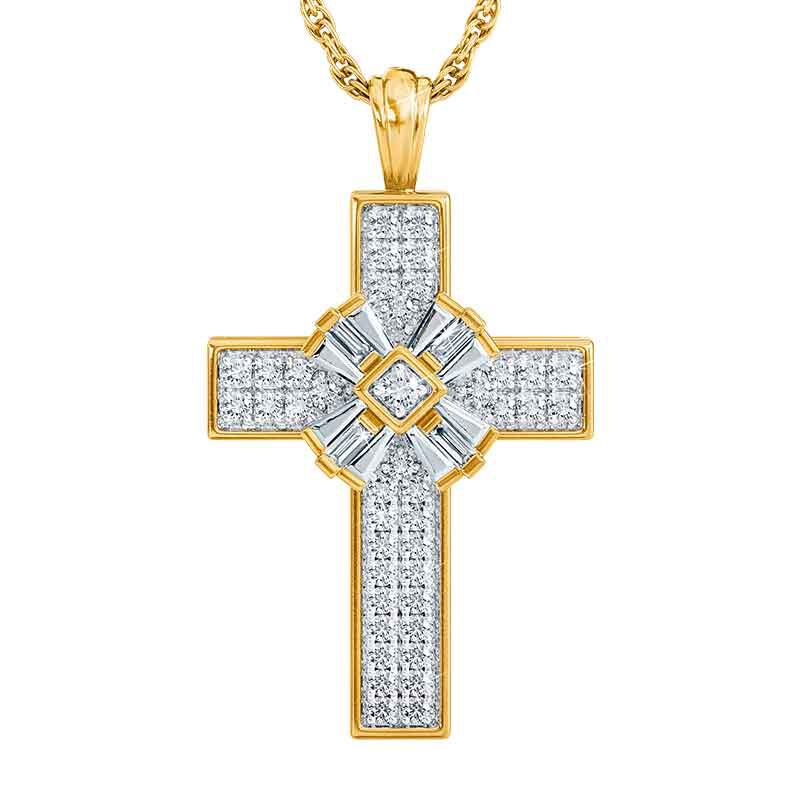 Diamonisse Devotion Cross Pendant 6064 001 8 1