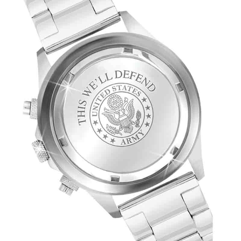 The US Army Chronograph Watch 5406 001 7 4