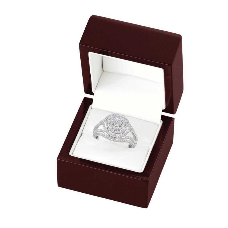 Brilliance Diamond Cocktail Ring 6535 0019 g gift box