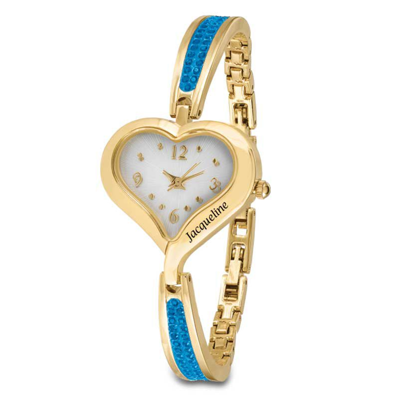 The Her First Name Birthstone Watch 6015 001 8 12