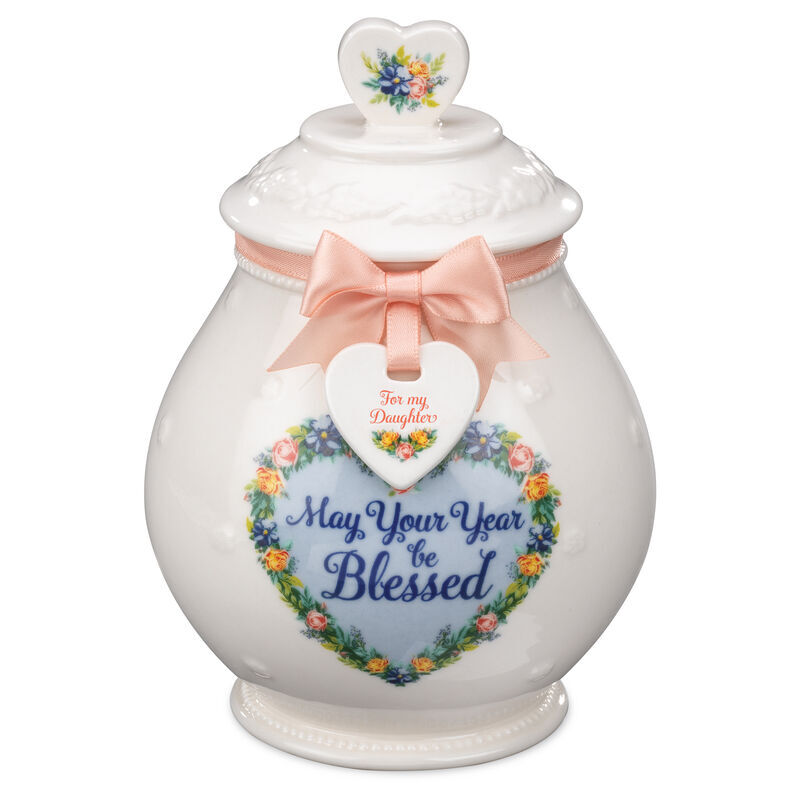 A Year of Blessings Porcelain Jar with Card 6538 001 6 2
