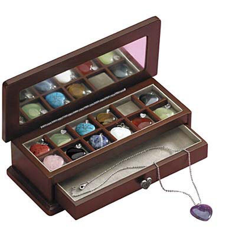Twelve Hearts Pendant  Jewelry Box 3210 003 4 1