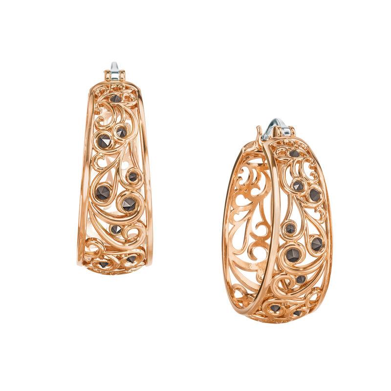 Cool n Copper Hoop Earrings 6745 0015 a main