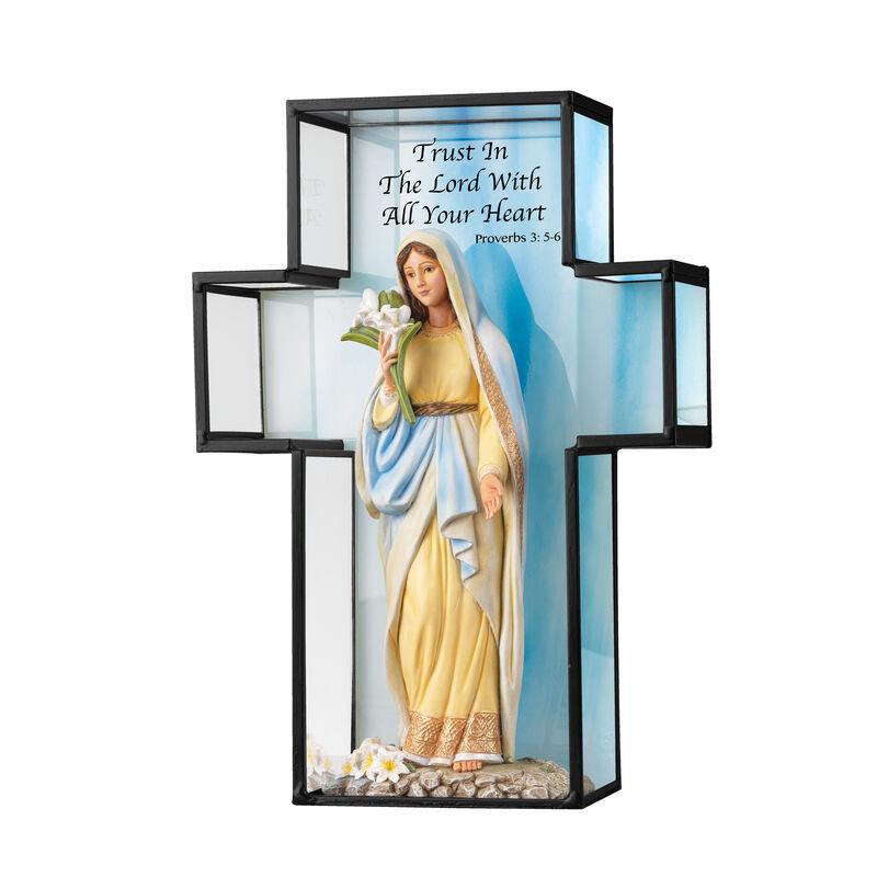 Hail Mary Full of Grace Figurine 6295 0019 a main