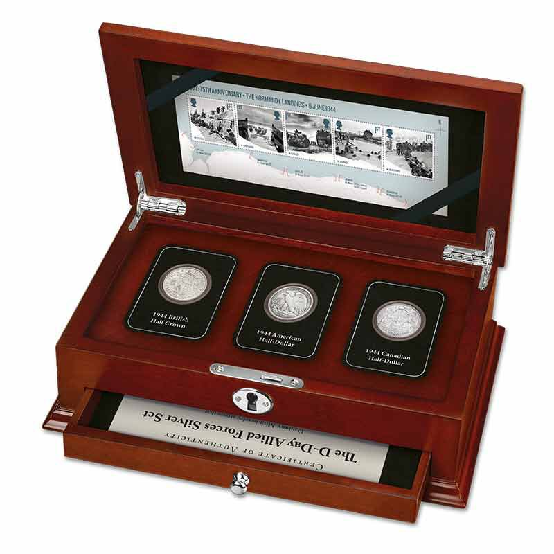 The D Day Allied Forces Silver Set 6186 001 1 1