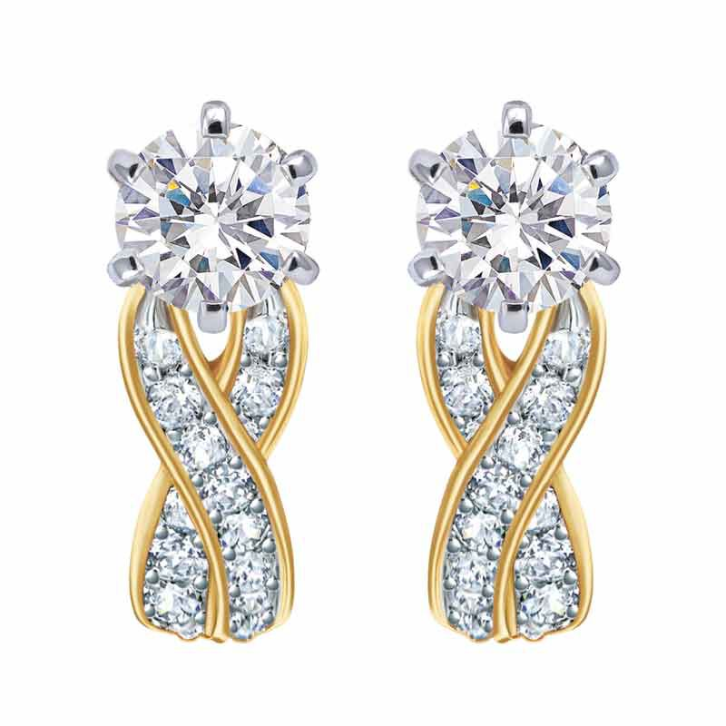 Birthstone Swirl Earrings 2647 001 3 4