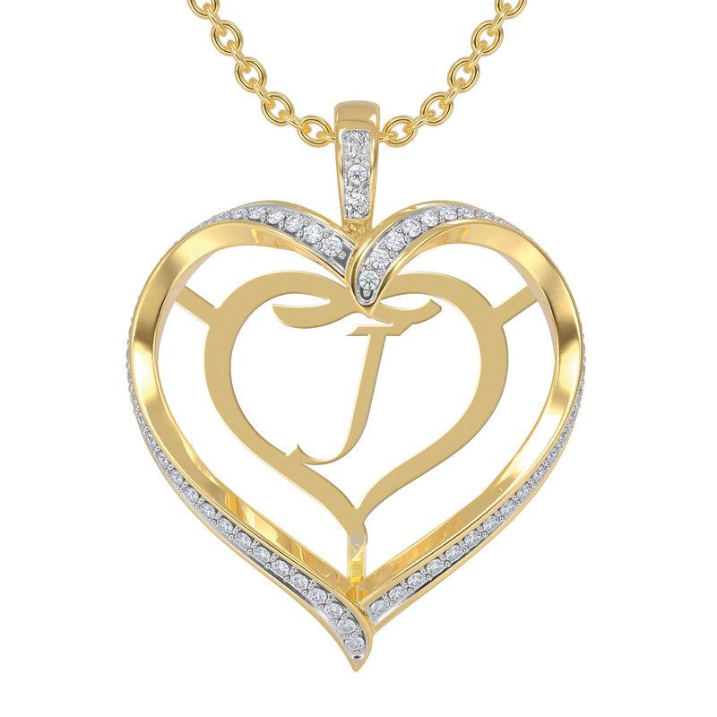 Personalized Birthstone Diamond Pendant 10138 0012 d april