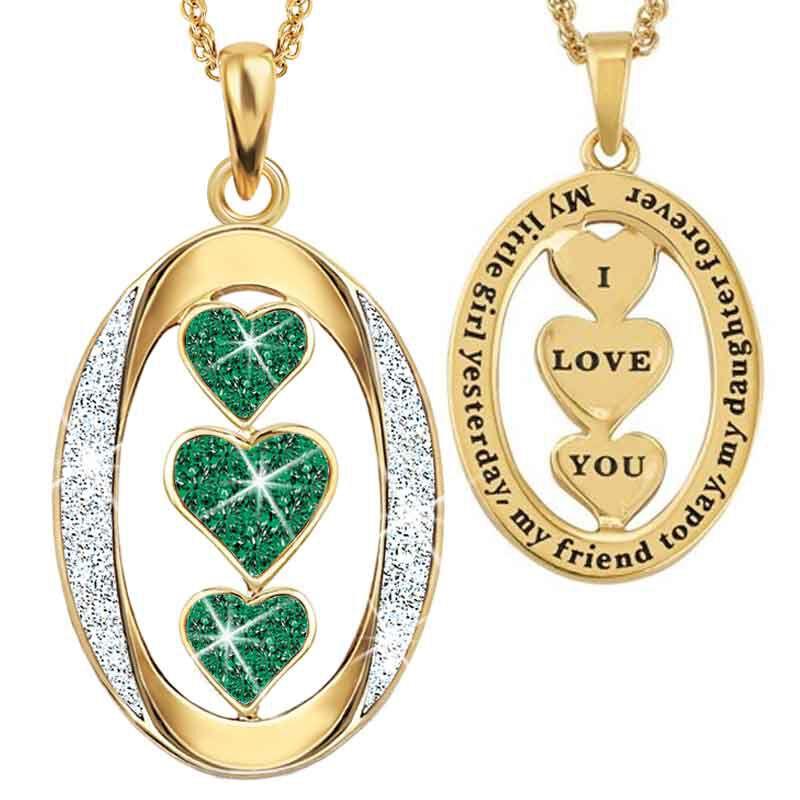 My Daughter I Love You Diamond Pendant 1136 001 3 5