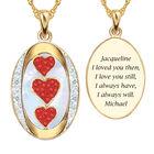 I Love You Custom Birthstone and Diamond Pendant 10702 0018 a main