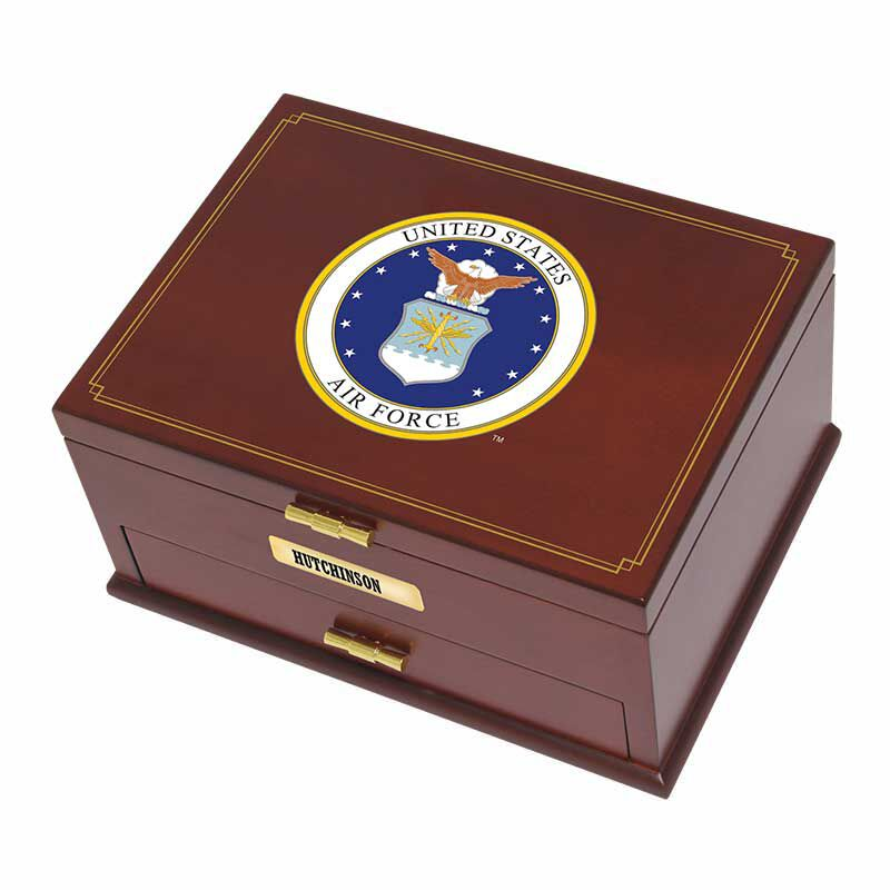 The Personalized US Air Force Valet Box 1711 002 4 3