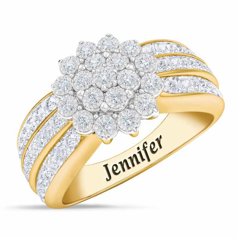 Personalized Birthstone Radiance Ring 5687 003 3 4