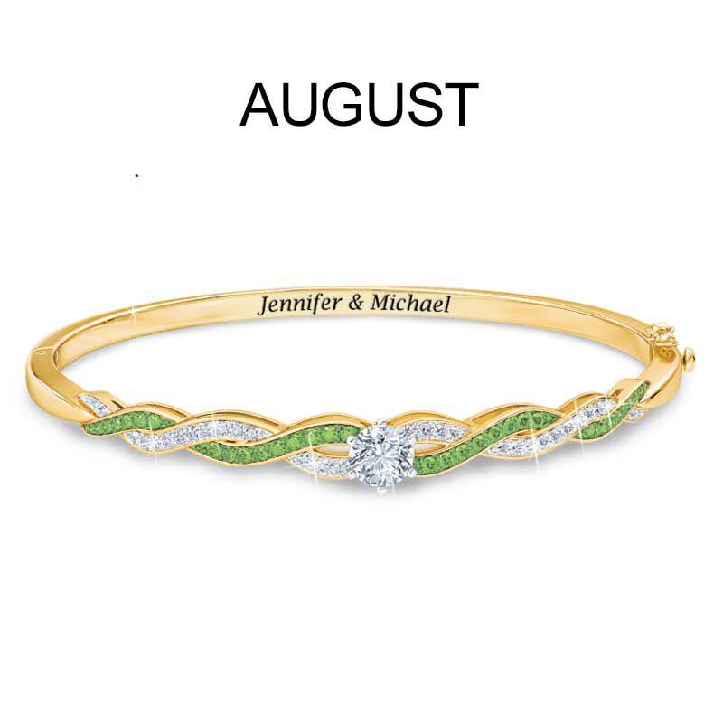Birthstone Swirl Bracelet 5821 002 2 9