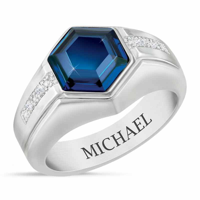 Indestructible Mens Cobalt Ring 1826 001 8 1