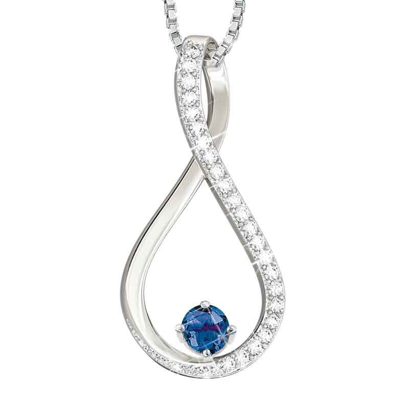 The Birthstone  Diamond Infinity Pendant 5200 001 5 9