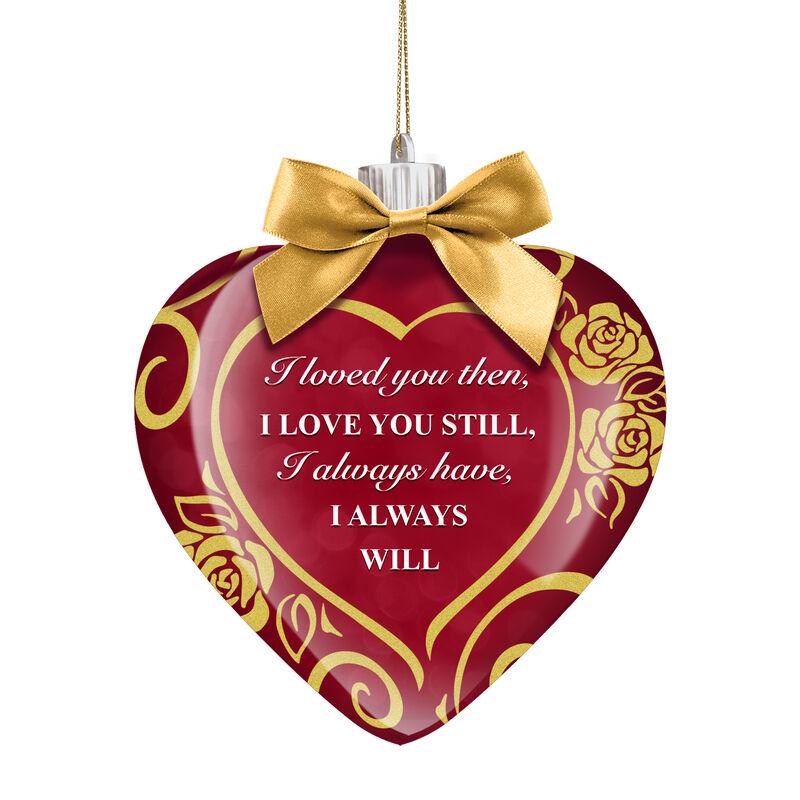 I Love You Always Illuminated Keepsake Ornament 6938 0012 b front