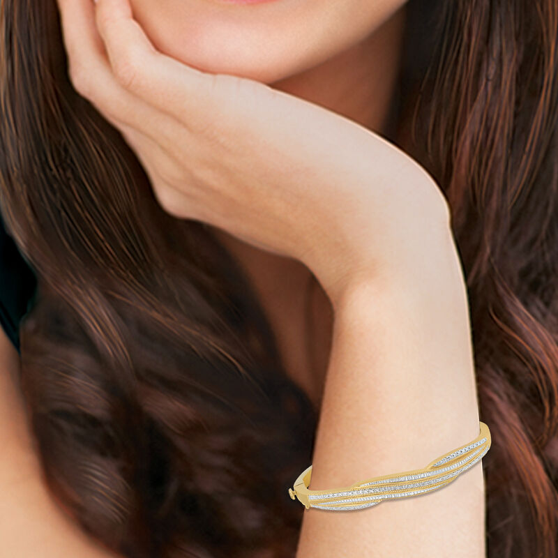My Daughter I Love You Forever Diamond Bangle 10039 0012 m model