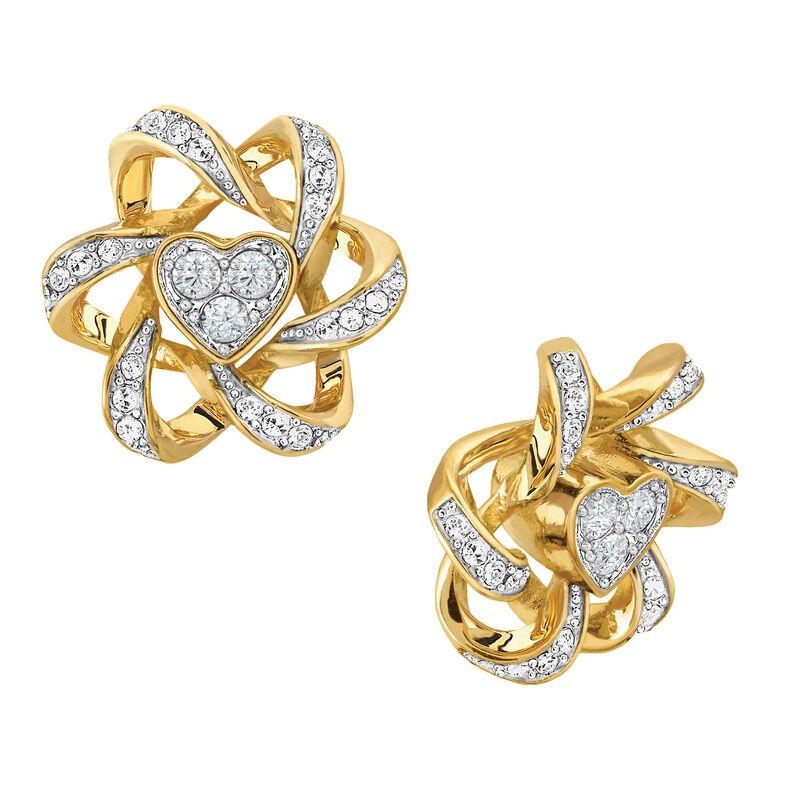 Birthstone Beauty Heart Earrings 2627 0066 d april