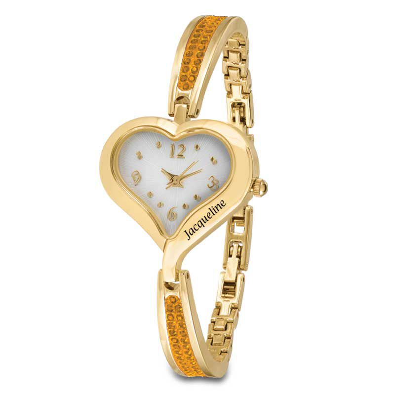 The Her First Name Birthstone Watch 6015 001 8 11
