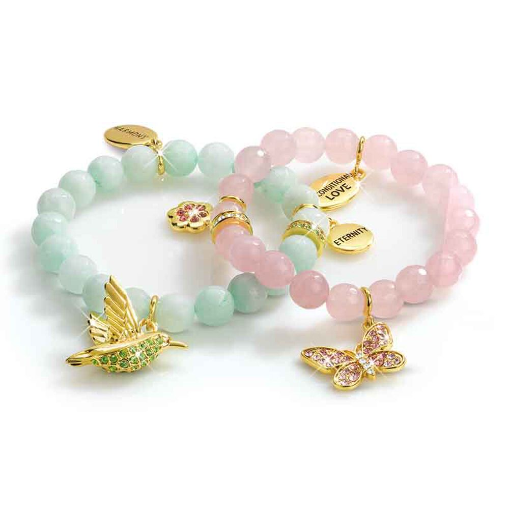 Nature's Harmony Charm Bracelets