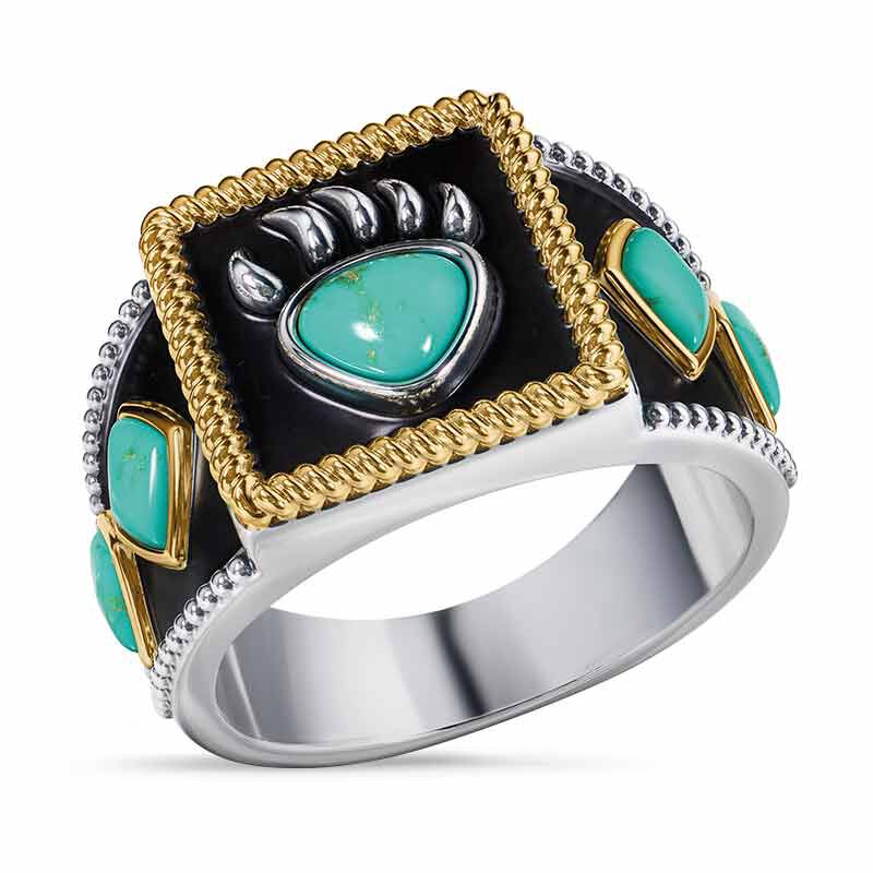 Legend of the Bear Claw Mens Ring 6775 001 8 1