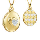 You Mean the World to Me Daughter Diamond Locket Pendant 10216 0017 a main