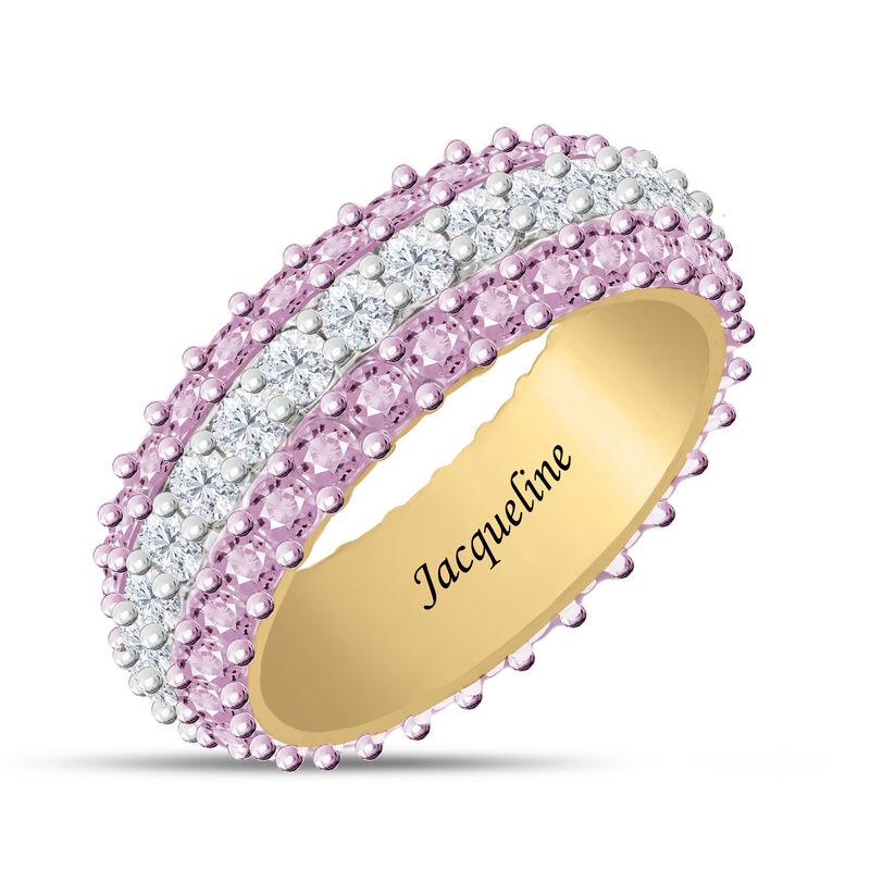 Birthstone Beauty Eternity Ring 6911 0013 f june