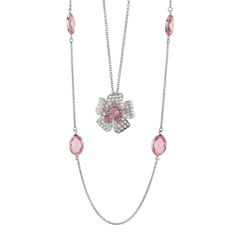Layers of Sparkle Crystal Necklace Collection 10027 0016 e may