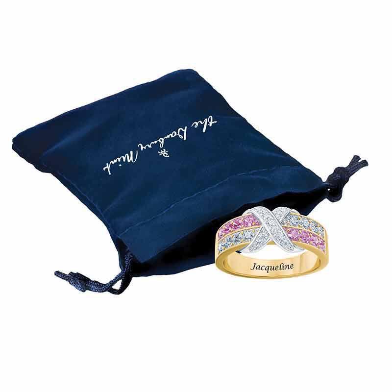 Birthstone Beauty Diamond Kiss Ring 6503 001 7 14