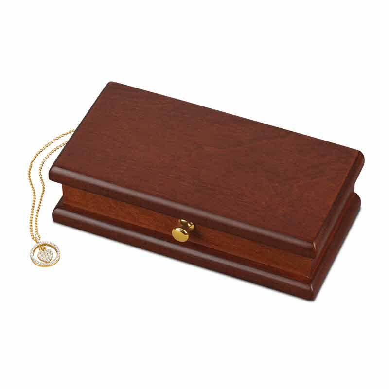 Treasures of the Heart Pendant  Jewelry Box Set 2169 001 1 5