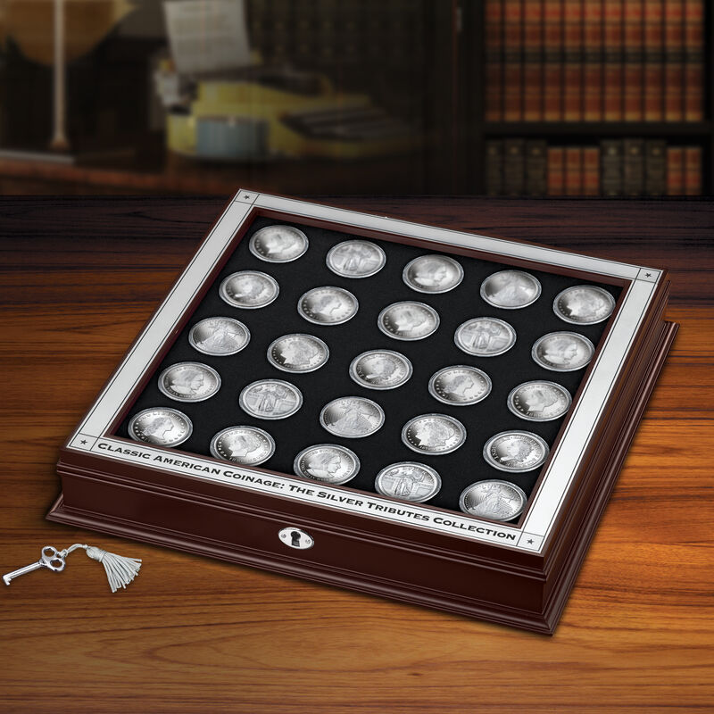 Classic American Coinage The Silver Tributes Collection 6812 0013 m room