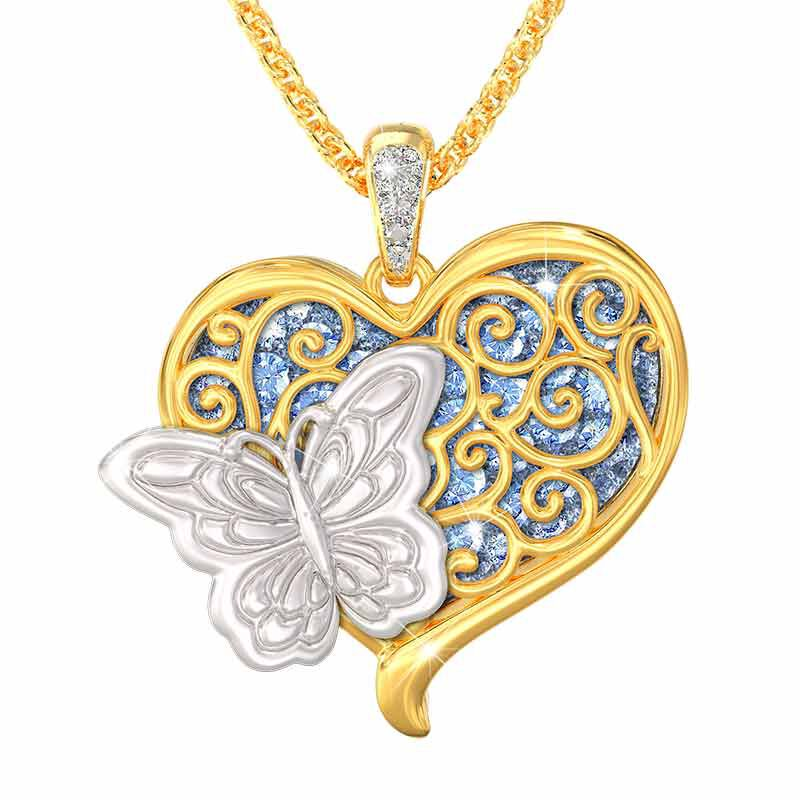 Wings from Heaven Remembrance Pendant 6484 001 0 1